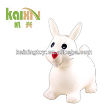 plastic animal toys inflatable jumping horse