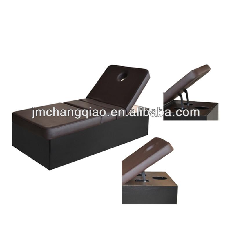 3 ondes partie table de massage lectrique chaise paresseux tables de - Chaise massage electrique ...
