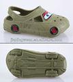 Carro das crianças da forma de eva entupir sapatos, moda, fresco e moldes a seus pés de eva obstruem