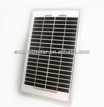 Reliable hot sale slim solar panel 3w for sale