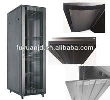 FY-EMD arc perforated cabinet - floor standing rack mounts