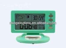 antique plastic desk alarm clock with CE&RoHS certification