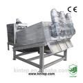 los residuos de tratamiento de agua equipo para el ganado de la planta