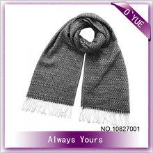 Chevron Pattern Fashion Knitting Shawl with Tassels