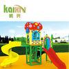 children playground equipment plastic play house with slide