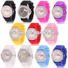 Hello Kitty in Stock Quartz Fashion Brand Chronograph Watch