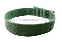 nylon webbing dog collar and leads
