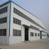 large span steel frame portal warehouse construction