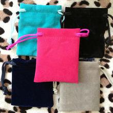 velvet drawstring bags/jewelry pouch/gift bag for packaging