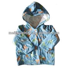 Cartoon Waterproof Breathable Kids Rain Jacket
