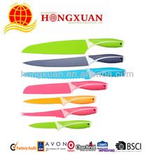 Hot sell Non-stick kitchen knife set