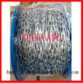 smooth soldada galvanizada elétrica din5685a corrente de aço redonda