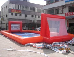 Hot sale soccer field/customized inflatable football pitch/inflatable football field