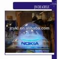 Exhibición de acrílico transparente hemisferio cúpula, de plástico transparente la mitad de la esfera de la cubierta