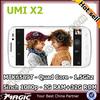 """5"""" mkt6589t quad core mobile phone umi x2 ips retina 2gb"""
