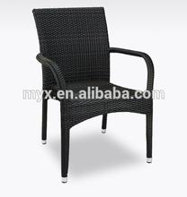 2015 Hot selling aluminum frame rattan wicker chair