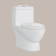 Modern Floor Mounted Bathroom Elegant Design One Piece Toilet