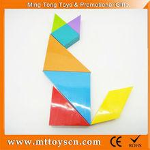 7pcs puzzle game plastic manufacturer jigsaw puzzle