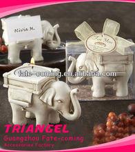 fortunato elefante supporto di candela candela per il matrimonio