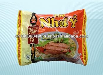 Beef flavour instant rice noodles 65gr