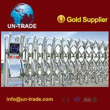 Automatic telescopic gate art gate aluminium sliding gate