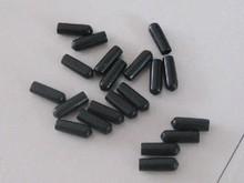 plastic threaded end caps/ pvc end caps for steel screws / steel bar end plugs