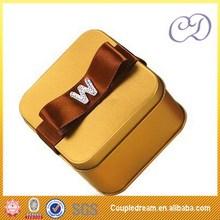 personalizado de buena calidad caja de la lata de chocolate hershey
