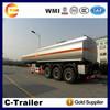 China 12wheel Fuwa Axle oil trailers,truck aluminum fuel tanks