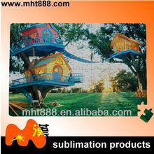 sublimation blanks puzzle P17 sublimation jigsaw sublimation paper puzzle