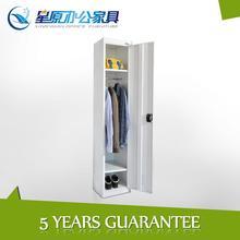 Environmental KD clothes cabinet,steel wardrobe closet