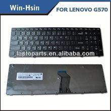 Original Keyboard laptop keyboard for lenovo g570 keyboard