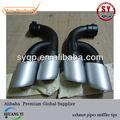 tubi di scarico silenziatore consigli utilizzati per vw touareg 2011