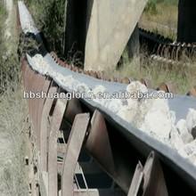 nylon fabric(nn) conveyor belt for coal washery, tunnels transportation, timber processing, ship unloader, waste disposal