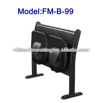 FM-B-99 Space saving school furniture folding desk and chair