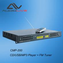 CMP-200 full DJ control CE Standard CD/USB/MP3 player FM tuner