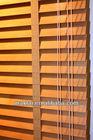 Wood Slat Basewood Cedar wood Blind Components