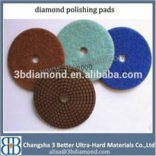 4 Inch Granite Marble Stone Diamond Wet Polishing Pad