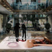 interactive led dance floor for wine bar/shopping mall/wedding etc