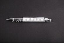 Metal Pen click deluxe pen factory fancy pen logo pen heat transfer imprint pen SA8000 Sedex factory audit slogan promotional