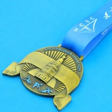 Custom high quality low price race metal medal