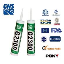 Using granville silicone sealant clear