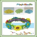 Intelecto 2014 magic milho moda argila miúdo brinquedo mágico nuudles f963-11 astm, en71, ocde 209, astm 6400