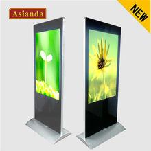 Yaxunda 55inch advertisement double faces rotating lightbox display