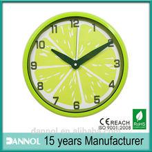 Custom dial design Fancy Wall Clocks cheap gifts and premium