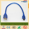 mini 5pin b male to male usb cable for mp3 player with reasonable price