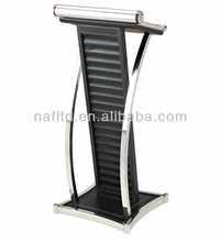 rostrum design modern stainless steel metal modern lectern podium