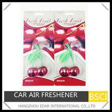 cherry fragrance car hanging freshener