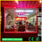 window led light decoration & storefront led lights &led border light 5050 led track