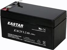 sealed lead acid rechargeable battery 12v 1.3ah for emergency light