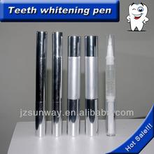Nova moda brilhante sorriso teeth whitening caneta com o pacote do oem, cp, hp, não- peróxido disponível.
